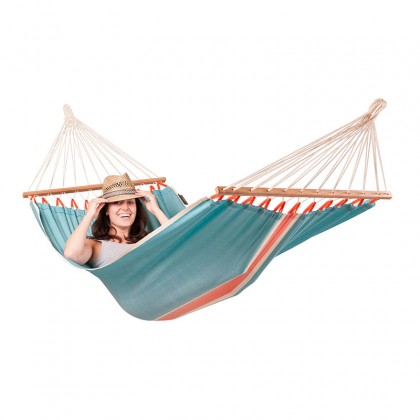 LA SIESTA® Fruta Curaçao - Weather-Resistant Single Spreader Bar Hammock