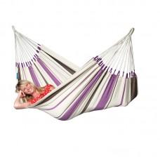 LA SIESTA® Caribeña Purple - Cotton Single Classic Hammock