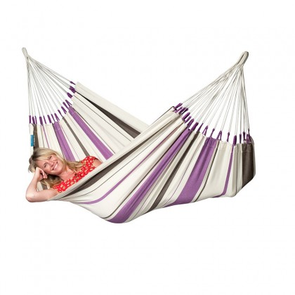 LA SIESTA® Caribeña Purple - Cotton Single Classic Hammock