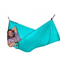 LA SIESTA® Colibri Turquoise Travel Hengekøye Single