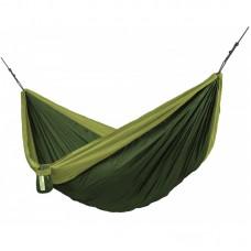 LA SIESTA® Colibri 3.0 Forest - Double Travel Hammock with Suspension