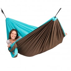LA SIESTA Colibri Turquoise Padded Travel Hengekøye Single