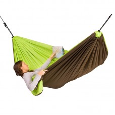 LA SIESTA® Colibri Green Padded Travel Hengekøye Single