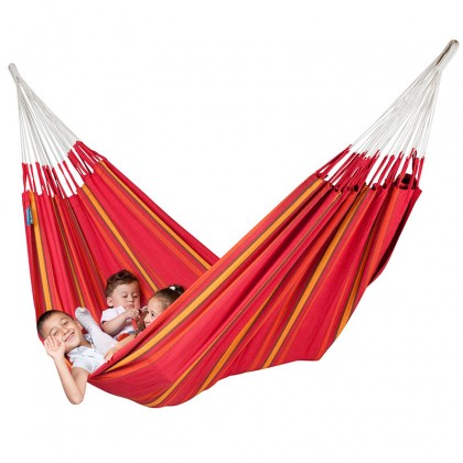 LA SIESTA® Currambera Cherry - Cotton Double Classic Hammock