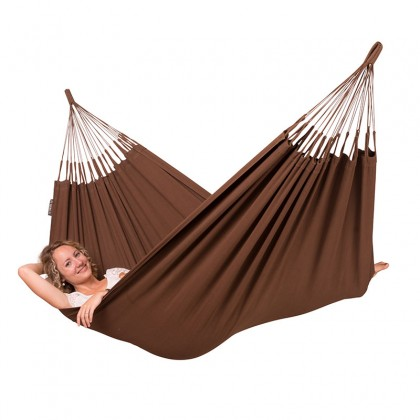 LA SIESTA® Modesta Arabica - Organic Cotton Single Classic Hammock