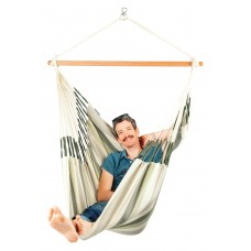 LA SIESTA® Domingo Cedar - Weather-Resistant Comfort Hammock Chair