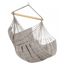 LA SIESTA® Domingo Almond - Weather-Resistant Comfort Hammock Chair