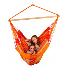 LA SIESTA® Domingo Toucan - Weather-Resistant Kingsize Hammock Chair