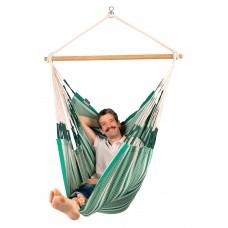 LA SIESTA® Habana Agave - Organic Cotton Comfort Hammock Chair