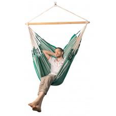 LA SIESTA® Habana Agave - Organic Cotton Kingsize Hammock Chair