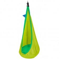 LA SIESTA® Joki Froggy - Organic Cotton Kids Hanging Nest with Suspension