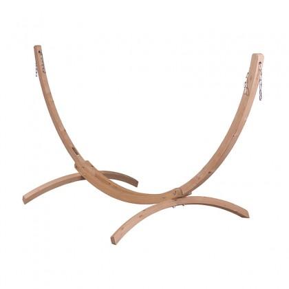 LA SIESTA® Canoa Caramel - FSC certified Spruce Stand for Single Hammocks