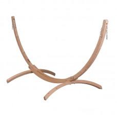 LA SIESTA® Canoa Caramel - FSC certified Spruce Stand for Double Hammocks