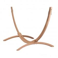 LA SIESTA® Canoa Caramel - FSC certified Spruce Stand for Kingsize Hammocks