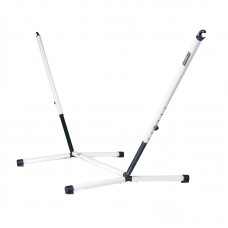 LA SIESTA® Nautico Cool Grey - Powder Coated Steel Stand for Single Hammocks