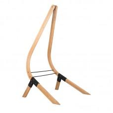 LA SIESTA® Vela Caramel - FSC certified Spruce Stand for Comfort Hammock Chairs